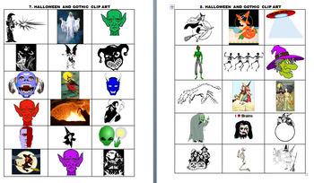 HALLOWEEN CLIP ART (OVER 250 IMAGES)