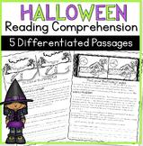 Halloween Reading Comprehension Passages | Halloween Close