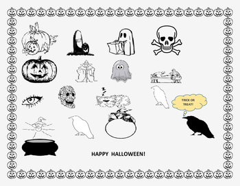HALLOWEEN COLORING ACTIVITY: K-3