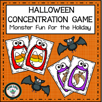 HALLOWEEN CONCENTRATION GAME FREEBIE