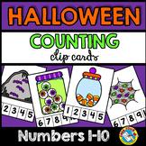 HALLOWEEN COUNTING CENTERS 1-10 (HALLOWEEN KINDERGARTEN CO