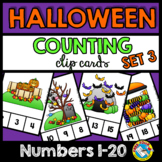 HALLOWEEN COUNTING CENTERS 1-20 (HALLOWEEN KINDERGARTEN CO