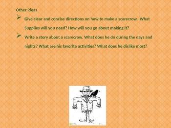 HALLOWEEN CREATIVE WRITING & FUN
