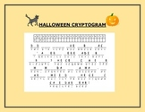 HALLOWEEN CRYPTOGRAM  GRADES 8-12,  A CHALLENGE!