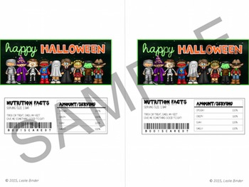 Halloween-Candy Bar Wrappers and Water Bottle Labels-06