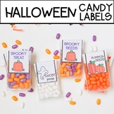 HALLOWEEN Candy Labels