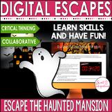 HALLOWEEN DIGITAL ESCAPE ROOM   Escape the Haunted House