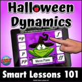 HALLOWEEN DYNAMIC BOOM CARDS™ Distance Learning Music Acti