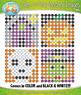 HALLOWEEN Dab-A-Dot Mystery Images Clipart {Zip-A-Dee-Doo-Dah Designs}