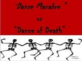 HALLOWEEN: Danse Macabre Listening Worksheets Grades 5-7