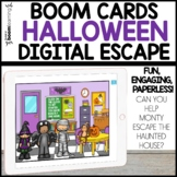 HALLOWEEN Digital Escape Boom Cards™ Distance Learning