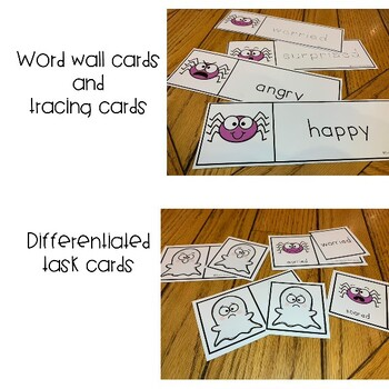 HALLOWEEN EMOTIONS  FOR AUTISM & SPECIAL EDUCATION