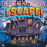 HALLOWEEN Escape Room Activities