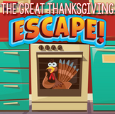 THANKSGIVING Escape Room Activities
