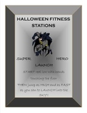 HALLOWEEN FITNESS STATIONS