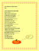 HALLOWEEN FUN: A RHYMING ACTIVITY