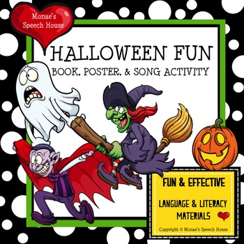 HALLOWEEN FUN BOOK, POSTER & SONG ACTIVITY