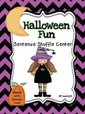 Fluency Activity Halloween