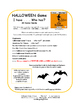 HALLOWEEN   I have ...Who has?   Spooky Vocabulary   FUN ACTIVITIES   Gr 4-5