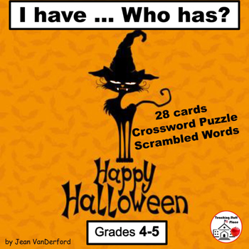 HALLOWEEN | I have ...Who has? | Spooky Vocabulary | FUN A