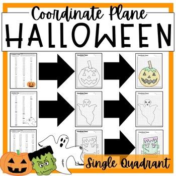 HALLOWEEN Graphing Coordinate Planes!