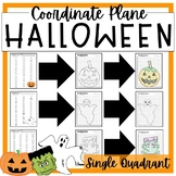 HALLOWEEN Graphing Coordinate Planes!