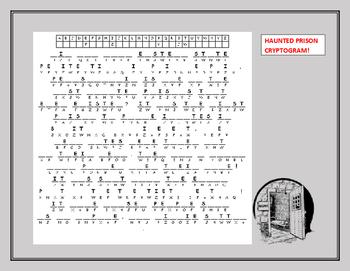HALLOWEEN: HAUNTED PRISON CRYPTOGRAM