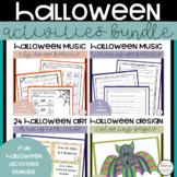 Halloween Music Lesson Bundle