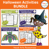Halloween Music and Art Activity Bundle