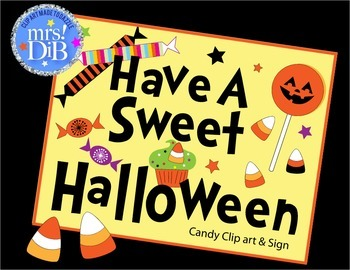 HALLOWEEN - Have a sweet Halloween- Original Clip Art