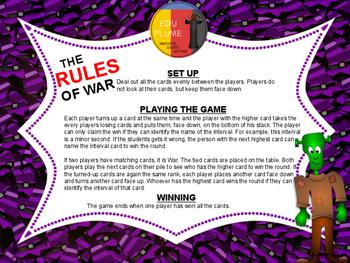 HALLOWEEN - INTERVALS - A SPOOKY GAME OF WAR