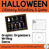 Halloween & Fall Literacy Writing Activities with Graphic Organizers K-2