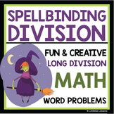 HALLOWEEN LONG DIVISION WITCH WORKSHEET