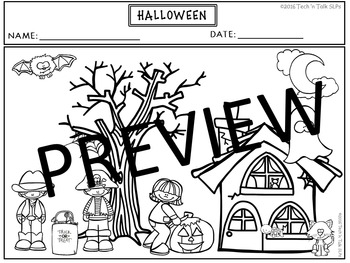 HALLOWEEN Language Development Lessons for Young Language Learners