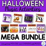 Halloween Music Activities Bundle: Lesson Songs, Games, Pr