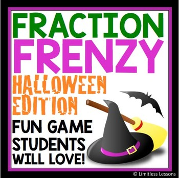 HALLOWEEN MULTIPLY AND DIVIDE FRACTION REVIEW GAME