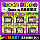 HALLOWEEN MUSIC BOOM™️ BINGO Boom Card BUNDLE Music Rhythm