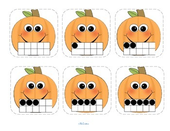 HALLOWEEN Matching Numbers 7 Different Ways 0-10