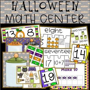 HALLOWEEN Math Center