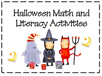 HALLOWEEN Math and Literacy Unit