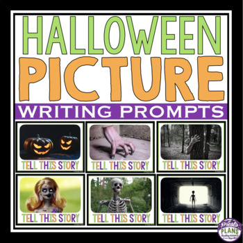 HALLOWEEN NARRATIVE WRITING PROMPTS PICTURES