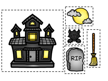 HALLOWEEN - NOTES - TREBLE/BASS CLEF/LEDGER LINES