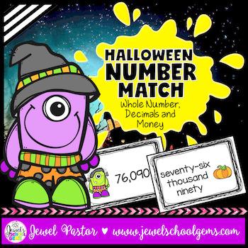(Halloween Math Activities) Halloween Math Centers