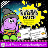 Halloween Math Activities (Halloween Math Centers Task Cards)