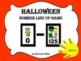 HALLOWEEN Number Line Up 0-125 Game