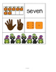 HALLOWEEN Numbers Make Your Own Anchor Charts