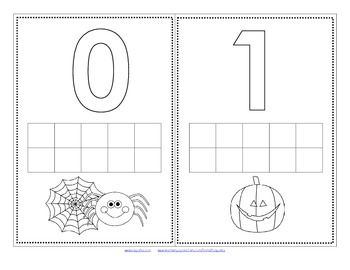 Dot Markers HALLOWEEN Numbers