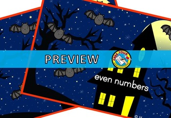 HALLOWEEN MATH CENTER: GHOST ODD AND EVEN SORTING ACTIVITY