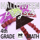 HALLOWEEN PROJECT - FOURTH GRADE MATH