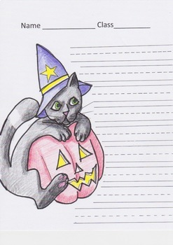 HALLOWEEN PROMPT PAPER CHOICE